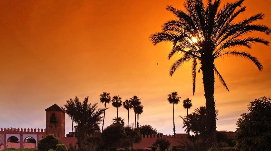 Tramonto a Marrakech