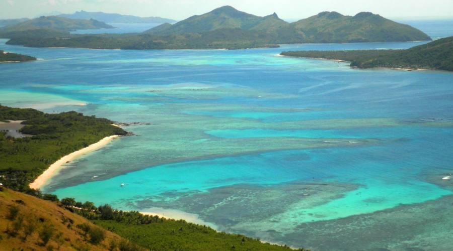 Vista aerea Fiji
