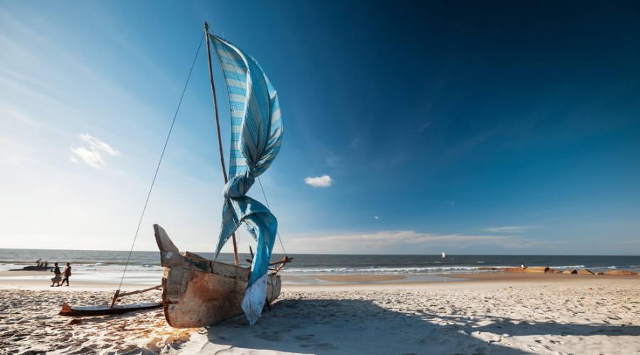 imbarcazione tipica malgascia