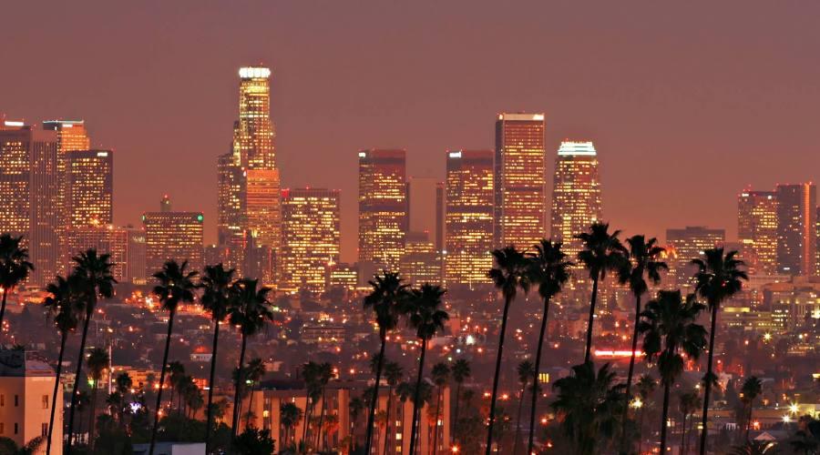 Los Angeles vista notturna