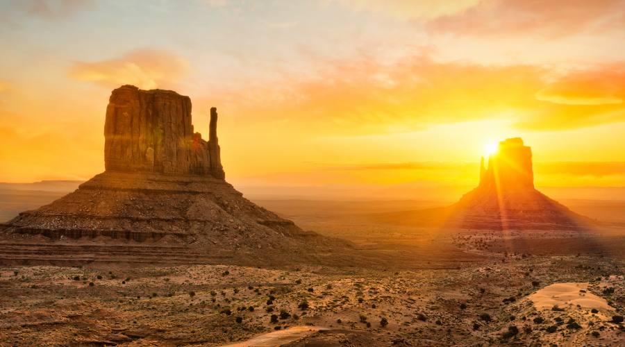 L'Alba alla Monument Valley