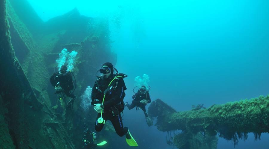 immersioni a La digue