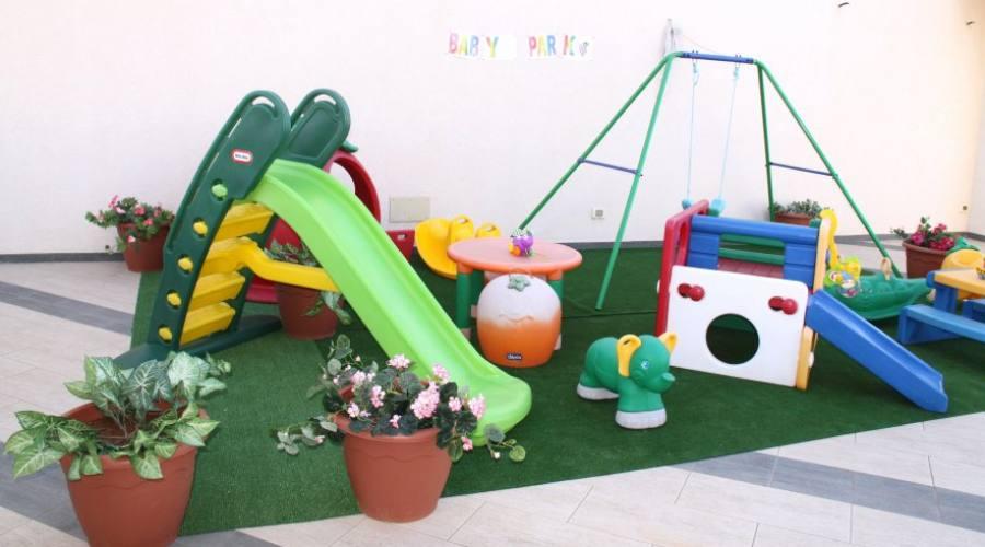 Area giochi pet bambini